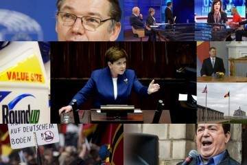 Collage European press round-up: Rule of law in Poland, budget deficits and refugees