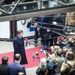 Ahmet Davutoglu at European Council in Brussels on March 18, 2016 / tvnewsroom.consilium.europa.eu