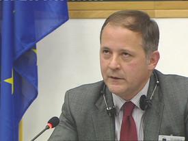 Benoît Cœuré, Executive Board of the European Central Bank /  Radio 24 II Sole