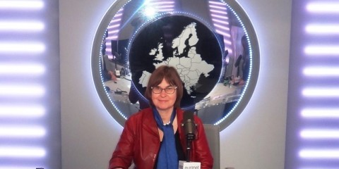 Guest of the Week Anne Jensen / Euranet Plus News Agency