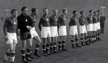The Hungarian national soccer team in Wembley 1953 / Wikipedia