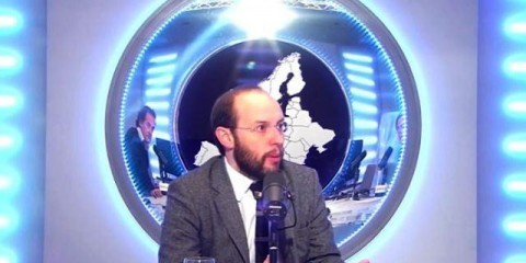 "Rui Tavares during the ""Guest of the Week"" interview with the Euranet Plus News Agency / Euranet Plus News Agency 2013"