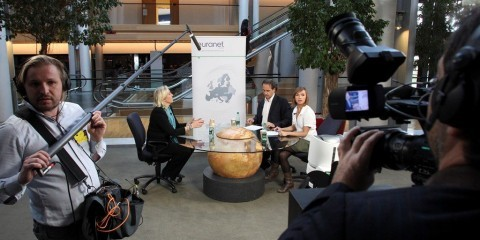 """""""Guest of the Week"""" interview with MEP Marine Le Pen by the Euranet Plus News Agency"""