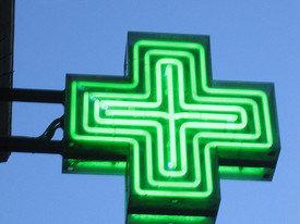 Pharmacy sign / Flickr / Pat Guiney