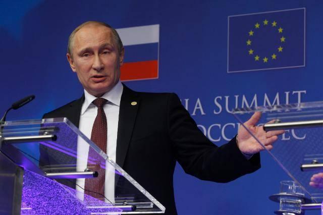 Putin at the EU-Russia January 2014 / ec.europa.eu