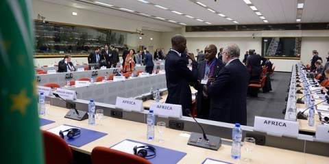 General view of the meeting room of the EU-Africa Summit / Flickr / European External Action Service / CC BY-NC-ND 2.0