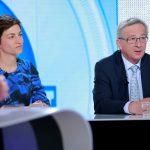Big Crunch Presidential Debate with Ska Keller and Jean-Claude Juncker / Euranet Plus News Agency