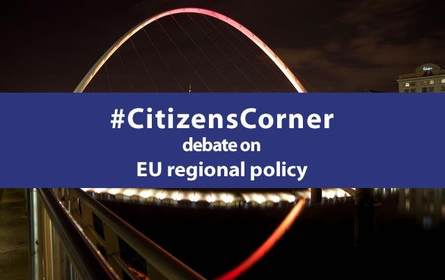 Citizens' Corner debate on EU regional policy
