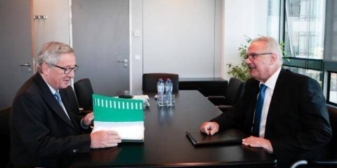 Jean-Claude Juncker, President-elect of the EC, met with Neven Mimica, Member of the EC in charge of Consumer Policy / ec.europa.eu