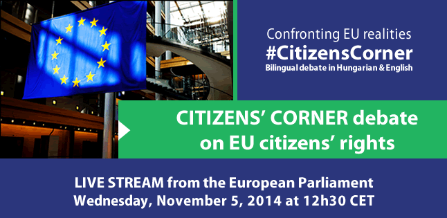 Citizens' Corner debate on EU citizens' rights