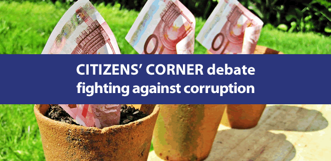 """a debate on corruption Bill curry is wondering why corruption is the center of debate or upheaval in every country but ours he writes that, """"hardly a week goes by without a f."""