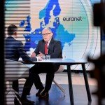 """Frans Timmermans, first Vice President of the European Commission, was the guest at the second Euranet Plus Big Crunch TV debate entitled """"EU INVESTMENT PLAN: IN EUROPE WE TRUST?"""""""
