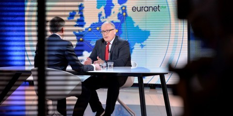 "Frans Timmermans, first Vice President of the European Commission, was the guest at the second Euranet Plus Big Crunch TV debate entitled ""EU INVESTMENT PLAN: IN EUROPE WE TRUST?"""