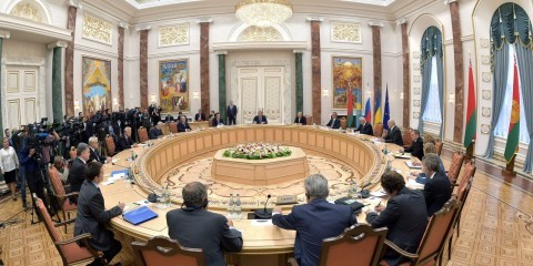 First Minsk Forum between the Eurasian Customs Union, EU and Ukraine on the crisis in eastern Ukraine in August 2014 / ec.europa.eu