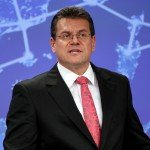 Maroš Šefčovič, Vice-President of the European Commission, on the strategy of the European Commission to achieve a resilient energy union with a forward-looking climate change policy at the press press conference in Brussels/Berlaymont on February 25, / ec.europa.eu