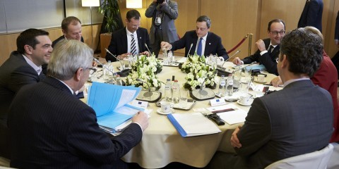 Talks on Greece at the EU summit on March 19 in Brussels