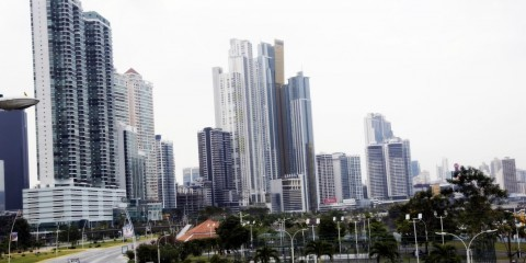 Skyscrapers in the new town of Panama City in 2015 / ec.europe.eu