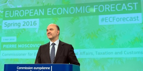 Pierre Moscovici on the 2016 Spring Economic Forecast on May 3, 2016 / ec.europa.eu