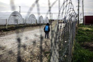 Kid at Kahramanmaraş refugee camp in Turkey in March 2016 / ec.europe.eu