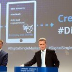 Joint press conference by Andrus Ansip and Günther Oettinger on the adoption of the Digital Single Market Strategy on May 6, 2015 / ec.europa.eu