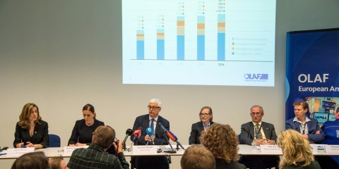 Press conference by Giovanni Kessler, Director-General of OLAF, on the OLAF Report for 2014 / ec.europa.eu