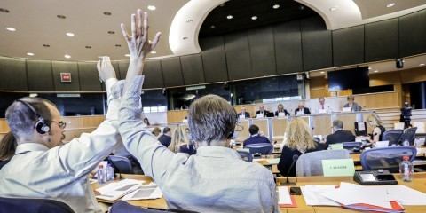 JURI Vote on copyright and related rights in the information society on June 16, 2015 / European Union 2015 EP