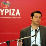 Alexis Tsipras campaigning for Syriza in 2013 / Flickr / Joanna / CC BY 2.0