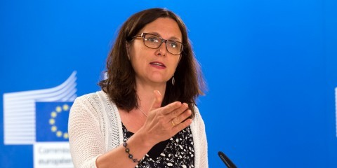 Press conference by Cecilia Malmström on the free trade deal with Vietnam on August 4, 2015 / ec.europa.eu