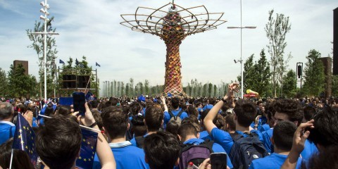 """Tree of Life"" designed by Orgoglio Brescia, symbol of the Italian pavilion at EXPO Milan 2015 / ec.europa.eu"