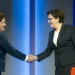 TV debate between Ewa Kopacz and Beatą Szydło on October 19, 2015 / Flickr / Platforma Obywatelska RP / CC BY-SA 2.0