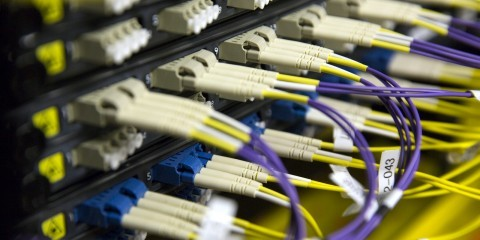 Cables in a data protection centre / European Union