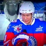 pen mightier than sword - putin hockey
