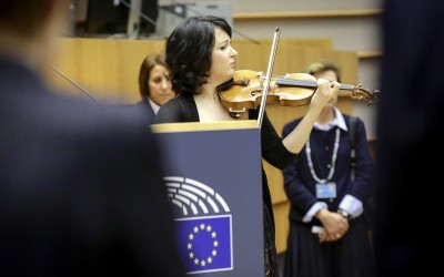Commemorative ceremony at European Parliament in honour of the victims of the terrorist attacks in Paris on November 17, 2015 / European Union - Source: EP