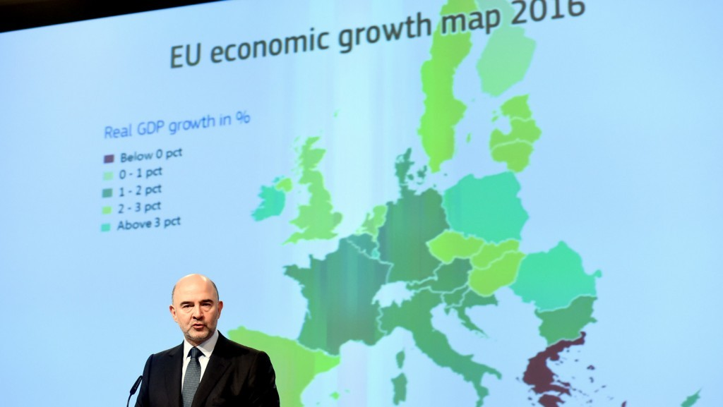 """european economy Many europeans are deeply ambivalent about the economic performance of the european union """"the eu was meant to bring us a golden future, but instead."""