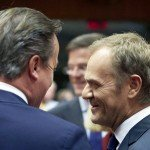 David Cameron, UK Prime Minister, and Donald Tusk, Ex Polish Prime Minister and now EU Council President / Flickr / European Council / CC BY-NC-ND 2.0