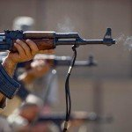 US security forces training Iraqi security forces airmen on AK-47s in 2011/ Flickr / DVIDSHUB / CC BY 2.0