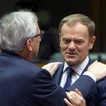 Juncker and Tusk at European Council on December 18, 2015 / tvnewsroom.consilium.europa.eu/