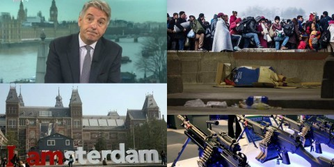 Collage European press roundup: Dutch presidency, economic side of Schengen and ceiling on number of asylum applications