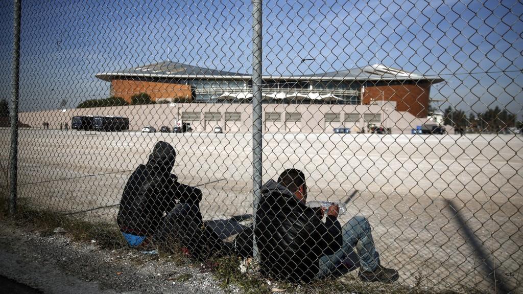 Eleonas temporary refugee centre in Athens in December 2015 / ec.europa.eu
