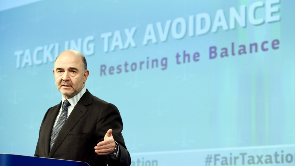 Press conference by Pierre Moscovici on the Tax Avoidance Package on January 28, 2016 / ec.europa.eu