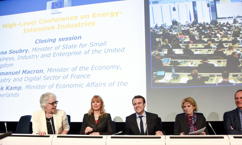 Elżbieta Bieńkowska at high-level conference on energy-intensive industries in Brussels on February 15, 2015 / ec.europa.eu