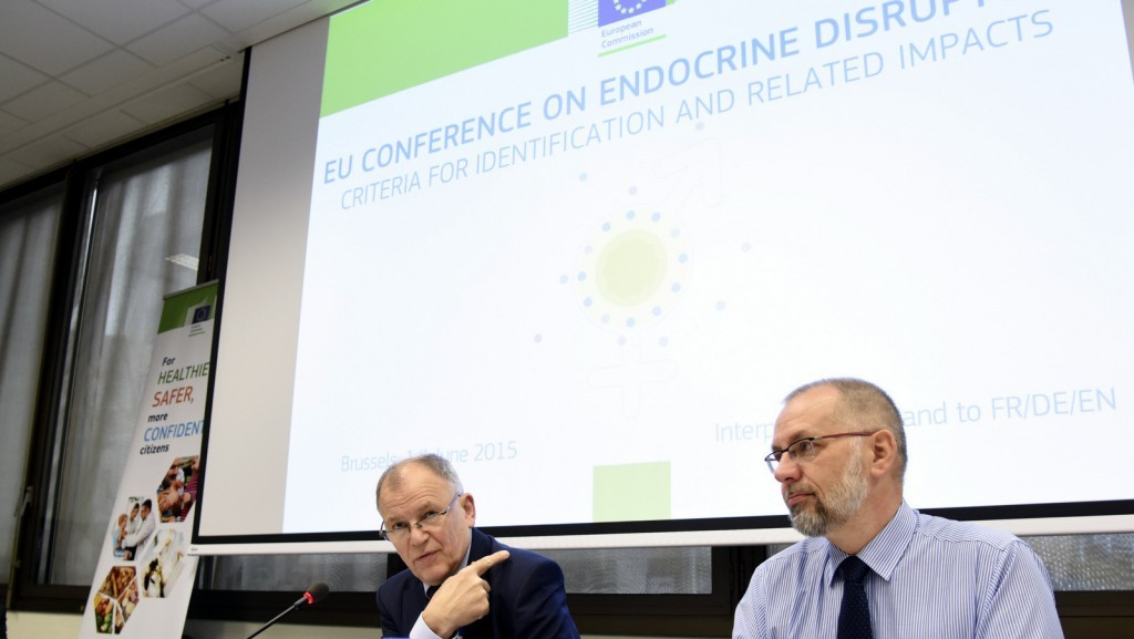Vytenis Andriukaitis at conference 'Endocrine disruptors: criteria for identification and related impacts' in June 2015 / ec.europa.eu