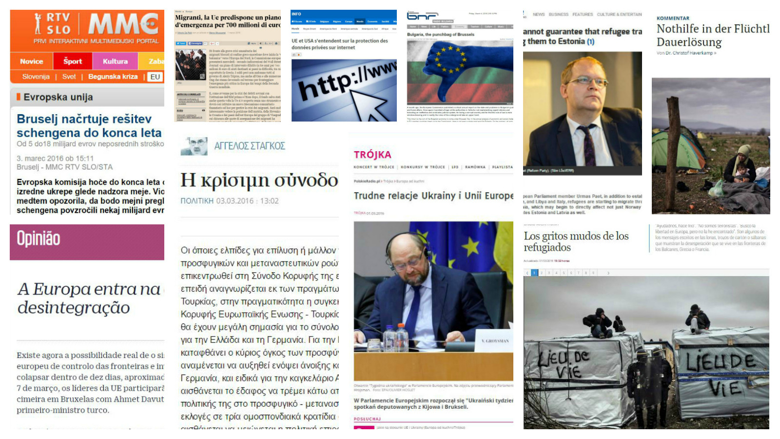 Collage European press round up: What to expect from EU-Turkey summit?