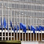 Flags lowered to half mast on at Berlaymont in Brussels on March 22, 2016 / ec.europa.eu