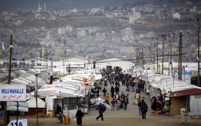 Refugee camp in Kahramanmaraş, Turkey, in March 2016 / ec.europa.eu