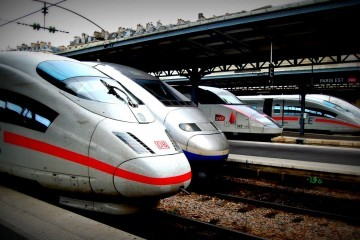 ICE and TGV at Gare de l'Est, Paris / Flickr / Todd Lappin / CC BY-NC 2.0