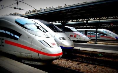 ICE and TGV at Gare de l'Est, Paris / Flickr / Todd Lappin / CC BY-NC 2.0