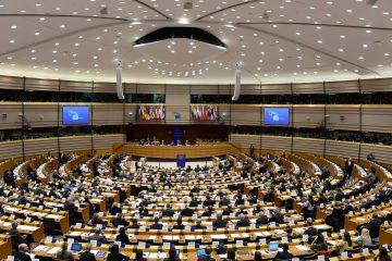 European Parliament hemicycle in Brussels / ec.europe.eu