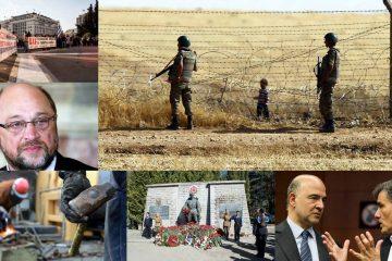 Collage European press round-up: Turkey visa deal, Greek debt relief and China