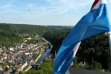 Luxembourg from top / Flickr / Greg Melia / CC BY-NC 2.0